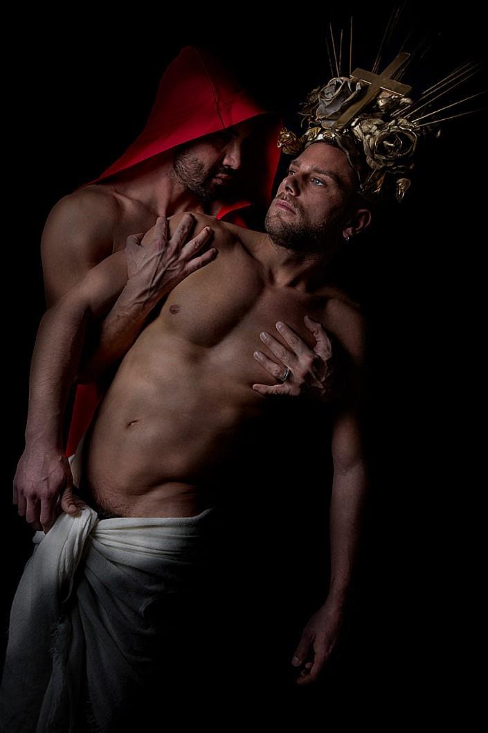Giacinto Mozzetta Photographer, Wagner Victoria, Leather, Sexy gay male, modus dominik