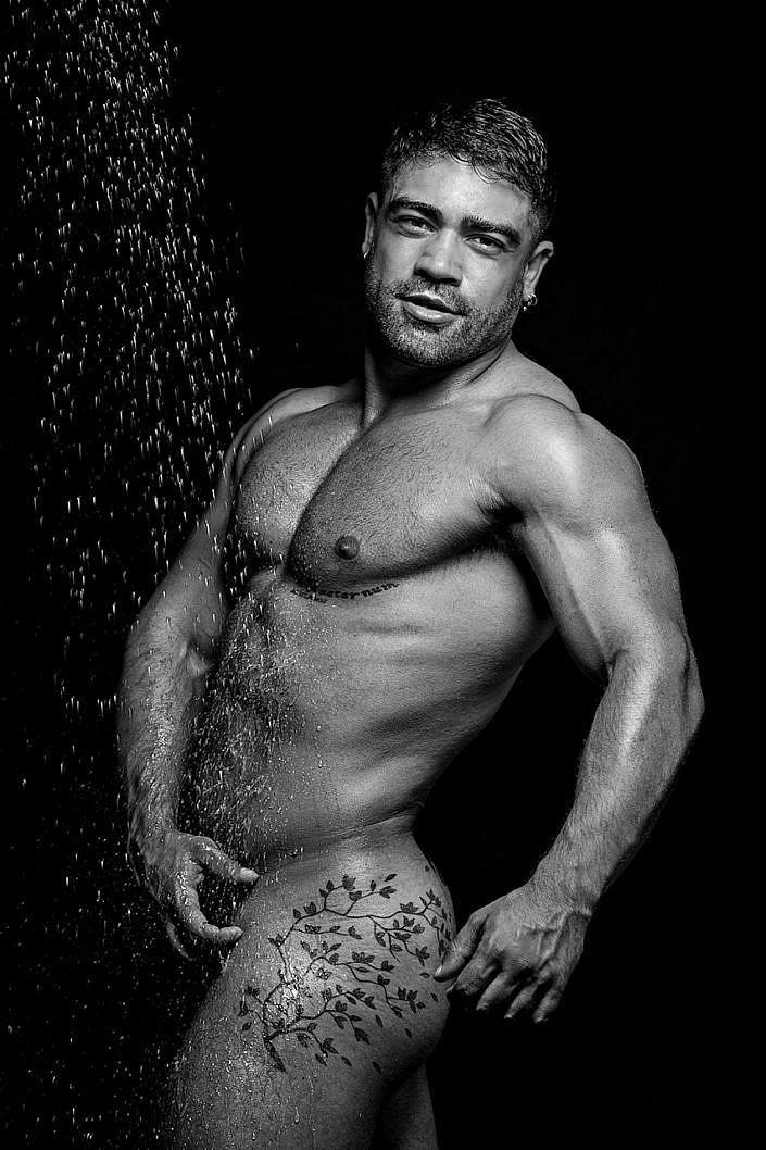 Giacinto Mozzetta Photographer, Salvatore Martinez, Leather, Sexy gay male